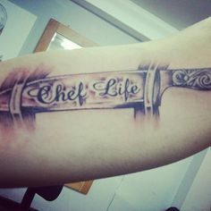 Chef life ink