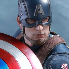 Hot Toys Marvel Sixth Scale Figures - Captain America