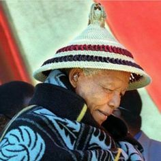 We are in Lesotho admiring the unique traditional hat, also known as Basotho hat…