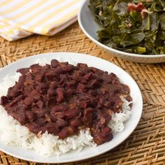 Red Beans and Rice made in the Pressure Cooker