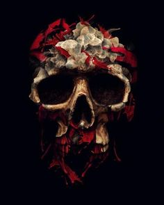 Картинка с тегом «skull, art, and black»