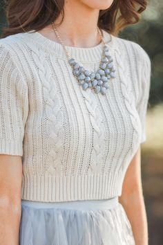 Statement necklaces, statement pieces, jeweled statement necklaces, staple pieces, Morning Lavender