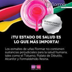 Porque en #Flormar pensamos en tu belleza y en tu salud <3