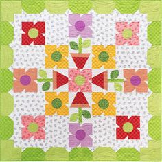 Corner Flower Shoppe from Quilt Soup. I like the border.
