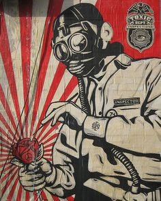 Graffiti Art obey