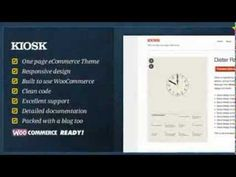 Kiosk - One Page eCommerce WordPress Theme + Free Download
