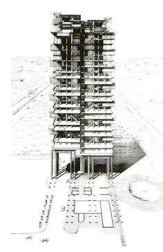 Colonnade Condominiums Singapore, Paul Rudolph
