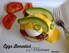 #Easter #Breakfast #Recipe (Eggs Benedict a la Mexicana) @Ciara Taienao