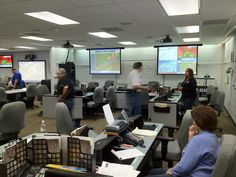 Inside the Madison County Emergency Operations Center during the March 2 tornado outbreak