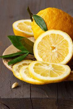 Lemons have many uses in the home. Here are a few: To freshen the air in your home, simmer a few sliced lemons in water for a few hours, adding more water when necessary. To whiten your whites: add ½ c. to your small load of laundry & let soak for a few minutes before letting it agitate. The acidic component of lemon helps to kill molds, bacteria & germs from cutting boards & counter tops, soap scum in your bathroom tub or shower stall. Soap is alkaline & acidic lemon will cut through it all...
