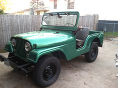 1962 Willys CJ-5 - Photo submitted by Scott Burkhardt.