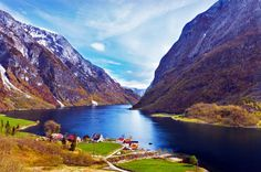 Naerofjord, Norway | 10 Breathtaking Fjords Of The World