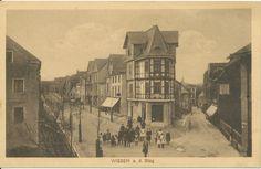 KE 010 - Kreits Ecke 1918 gel. - Straßen noch  nicht gepflastert. (Archiv Oliver Becher)