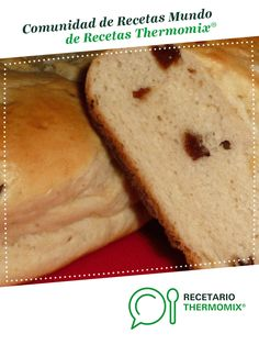 PAN DE LECHE Y PASAS. por popporsche. La receta de Thermomix<sup>®</sup> se encuentra en la categoría Masas y repostería en www.recetario.es, de Thermomix<sup>®</sup> Pan Dulce, Empanadas, Breads, Food, Raisin Bread, Sweet Dinner Rolls, Pound Cake, Cookies, Sweet And Saltines