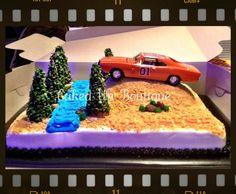 Dukes Of Hazzard Birthday Cake Desserts Birthday Cake