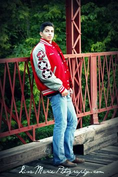senior pictures, guys, letter jacket, athlete,