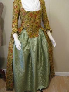 Colonial Dress & Petticoat by Verdanta
