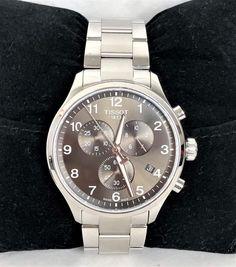 Tissot Chrono XL Classic Silber/Schwarz T116.617 ID: A1502-7 - AV-Pfandhaus Shop Rolex Watches, Michael Kors, Classic, Shop, Gold, Accessories, Sapphire, Stainless Steel, Silver