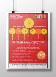 Graphics Designs:  Daan Utsav Poster