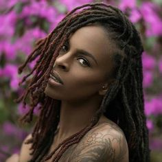 """How to get Long Strong Type 4 Dreadlocks/Natural Hair Without Using Extensions, Weaves or Wigs! Get your Free Guide Simple Keys to Grow long Type 4 Dreads, dreds,locs fast """" and bonus video! New Natural Hairstyles, Dreadlock Hairstyles, Braided Hairstyles, Black Hairstyles, Hairstyles Pictures, Simple Hairstyles, American Hairstyles, Bob Hairstyles, Black Woman With Dreadlocks"""