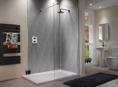 Showerwall's Infinity range trendy, urban look in bathroom wall panels - Bathroom Review