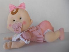 Fofucha Luna y Leila - Patrones gratis Baby Shawer, Felt Baby, Baby Shower Themes, Baby Boy Shower, Softie Pattern, Shower Bebe, Felt Patterns, Boho Baby, Soft Dolls