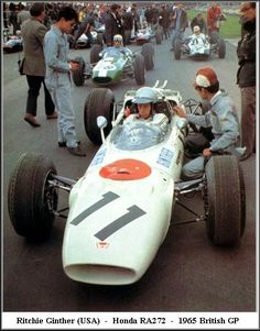 Ritchie Ginther   Honda RA272   1965