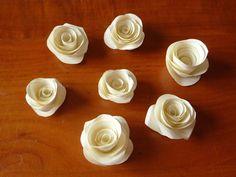 Tutorial roselline di carta