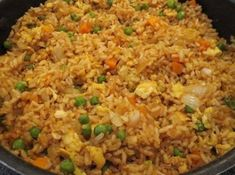 PF Chang's Copycat Recipes: Chicken Fried Rice - easy GF swap out Rice Recipes, Asian Recipes, Dinner Recipes, Ethnic Recipes, Easy Recipes, Copycat Recipes, Skinny Recipes, Healthy Chinese Recipes, Gastronomia