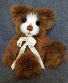 Chester  One of a kind artist bear by Jigpaws ,