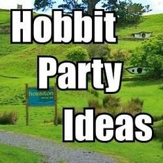 Hobbit Party Ideas: Games, Activities, and Food