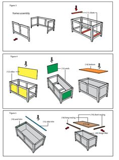In the first months, your baby will prefer the toys he can watch and listen to the most, and the … Wooden Toy Chest, Wooden Toy Boxes, Wood Chest, Woodworking Plans, Woodworking Projects, Unique Woodworking, Popular Woodworking, Toy Box Plans, Diy Toy Box