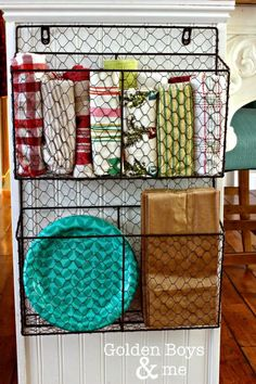 Best DIY Projects: DIY hanging wire basket for kitchen storage. Plus Ikea hack Kitchen island and tour