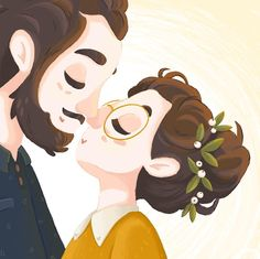 Couple Illustration, Portrait Illustration, Storyboard, Sweet Drawings, Pottery Painting Designs, Cute Girl Wallpaper, Art Sketchbook, Cute Art, Sketches