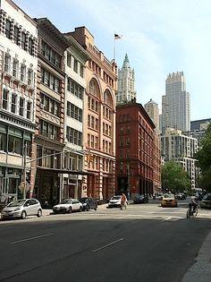 """I love the industrial, loft-feel of Tribeca."" - Lela"