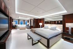 Huntress Yacht for Sale Lurssen Yachts Motor Yacht Yacht Luxury Yacht Interior, Boat Interior, Luxury Yachts, Luxury Homes, Yacht Design, Boat Design, Florida Design, Interior Design Work, Design Interiors