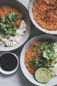 Opskrift på vegansk curry 4
