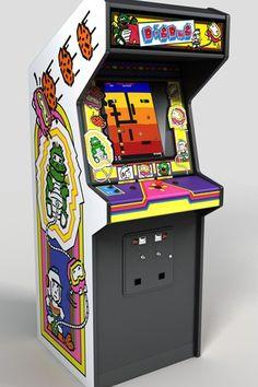 arcade game dig dug - Google Search