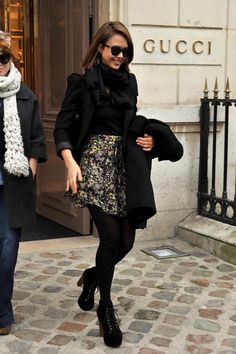 Jessica Alba style ! <3 it