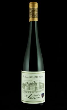 2010 IL Raggio Del Sole - most delicious dessert wine I have ever tasted, and did so among the beautiful setting of Castello Di Amorosa in Calistoga, CA. Light, soft, floral and fruity - so sad it is not available anywhere but at their winery.