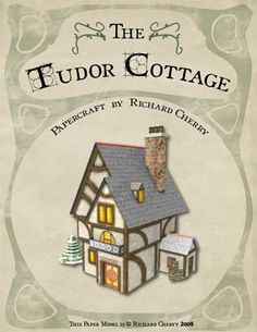 The Tudor Cottage Papercraft ~ Paperkraft.net - Free Papercraft, Paper Model, & Papertoy