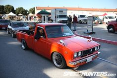 I want an old Toyota Truck like this!