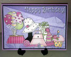 Girly Bright Birthday
