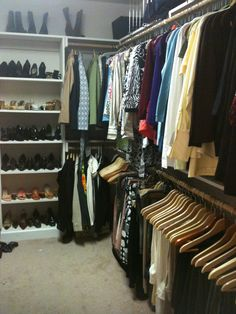 1000+ images about Organizing a large walk-in closet on Pinterest