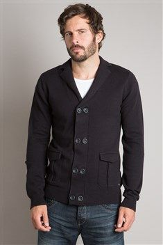 Bonobo gilet homme coupe droite double boutons