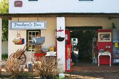 Pandora's Box, one of the many quaint little shops you can find in Noordhoek Village.