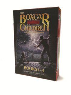 The Boxcar Children Books 1-4 by Gertrude Chandler Warner http://www.amazon.com/dp/0807508543/ref=cm_sw_r_pi_dp_JMTivb1C3DDE6