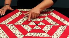 Video tutorial: Cutting 60 degree triangles without special rulers Quilting Rulers, Quilting Tips, Quilting Tutorials, Quilting Projects, Sewing Projects, Quilt Blocks, 24 Blocks, Boy Quilts, Diamond Quilt