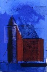 Kjell Nupen Sentimental reise blå Edvard Munch, Blues Artists, Scandinavian Art, Blue Art, Architecture Art, Figurative, Norway, My Arts, Houses