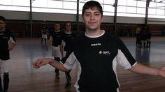 Equipa de Futsal da associação paralisia cerebral no campeonato nacional de futsal 2013